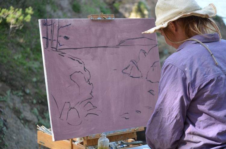 Point Lobos Painter