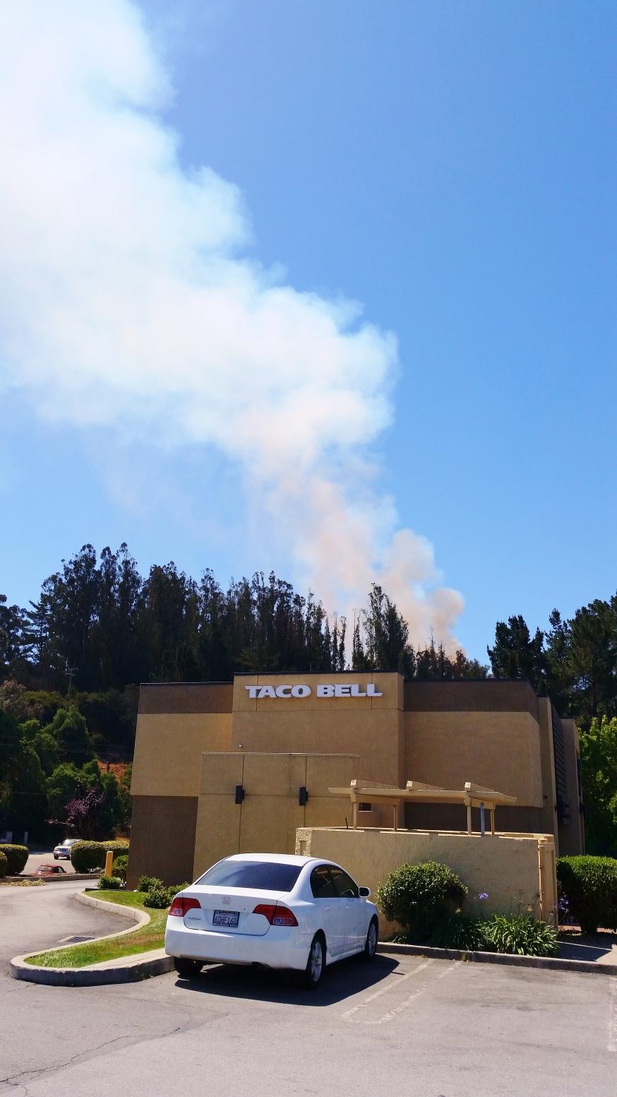 Taco fire