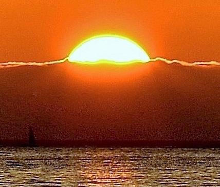 sunset on a fog bank.3 - Copy (2) - Copy